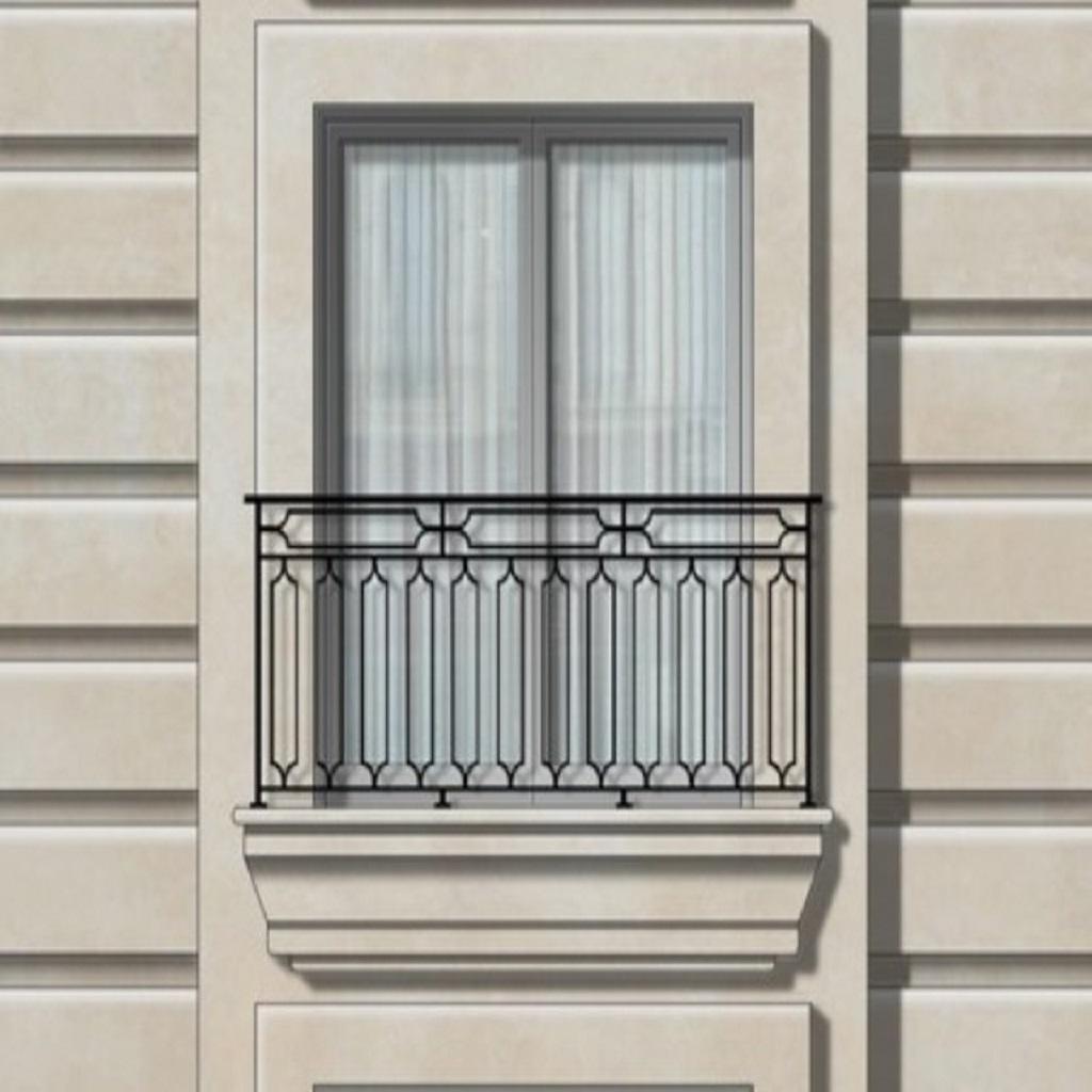 Ferforje Balkon Korkuluğu